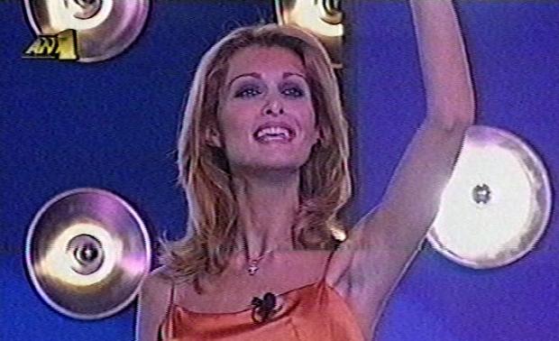 Η Νατάσα Θεοδωρίδου στο «Με φόρα» (1999)