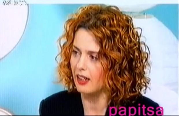 Η Ελένη Τσαλιγοπούλου στο Mega Star