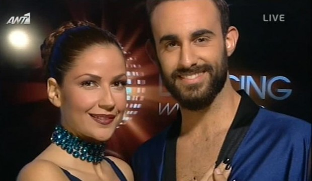 Η Χρύσπα στο πέμπτο live του «Dancing with the Stars 4″