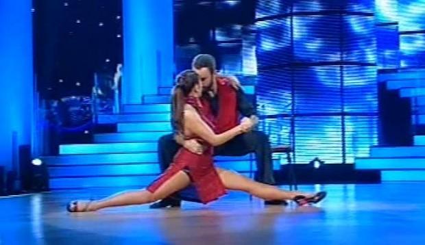Η Χρύσπα στο έκτο live του «Dancing with the Stars 4″