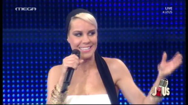 Η Ράνια Κωστάκη στο πέμπτο live του J2US (βίντεο)