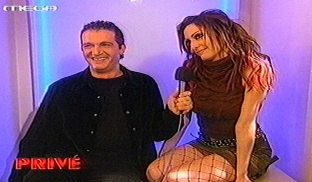 Η Δέσποινα Βανδή και ο Κώστας Καπετανίδης στο Prive (βίντεο)