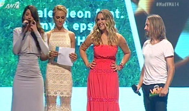 Η Ναταλία Γερμανού στα Mad VMA 2014 (βίντεο)