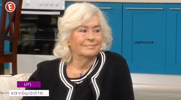 Η Κατερίνα Χέλμη στο «Μη Χανόμαστε» (βίντεο)