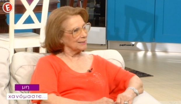 Η Μέλπω Ζαρόκωστα στο «Μη Χανόμαστε» (βίντεο)