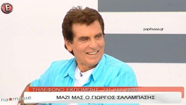 Ο Γιώργος Σαλαμπάσης στο «NaMaSte» (βίντεο)
