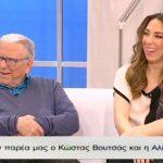 Ο Κώστας Βουτσάς και η Αλίκη Κατσαβού στο «NaMaSte» (βίντεο)