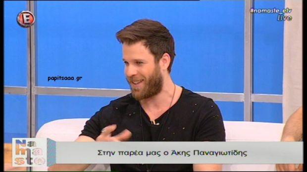 Ο Άκης Παναγιωτίδης στο «NaMaSte» (βίντεο)