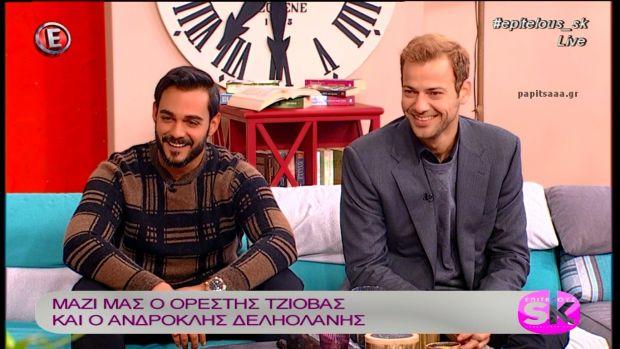 Ο Ορέστης Τζιόβας και ο Ανδροκλής Δεληολάνης στο «Επιτέλους Σαββατοκύριακο» (βίντεο)