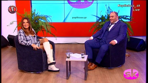 Ο Φάνης Λαμπρόπουλος στο «Επιτέλους Σαββατοκύριακο» (βίντεο)